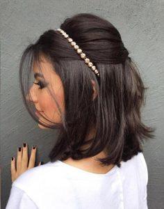 Esküvői frizura rövid hajból 3
