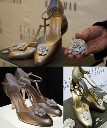 1 millió dolláros esküvői cipő