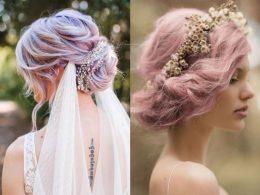 estrem menyasszonyi frizurák