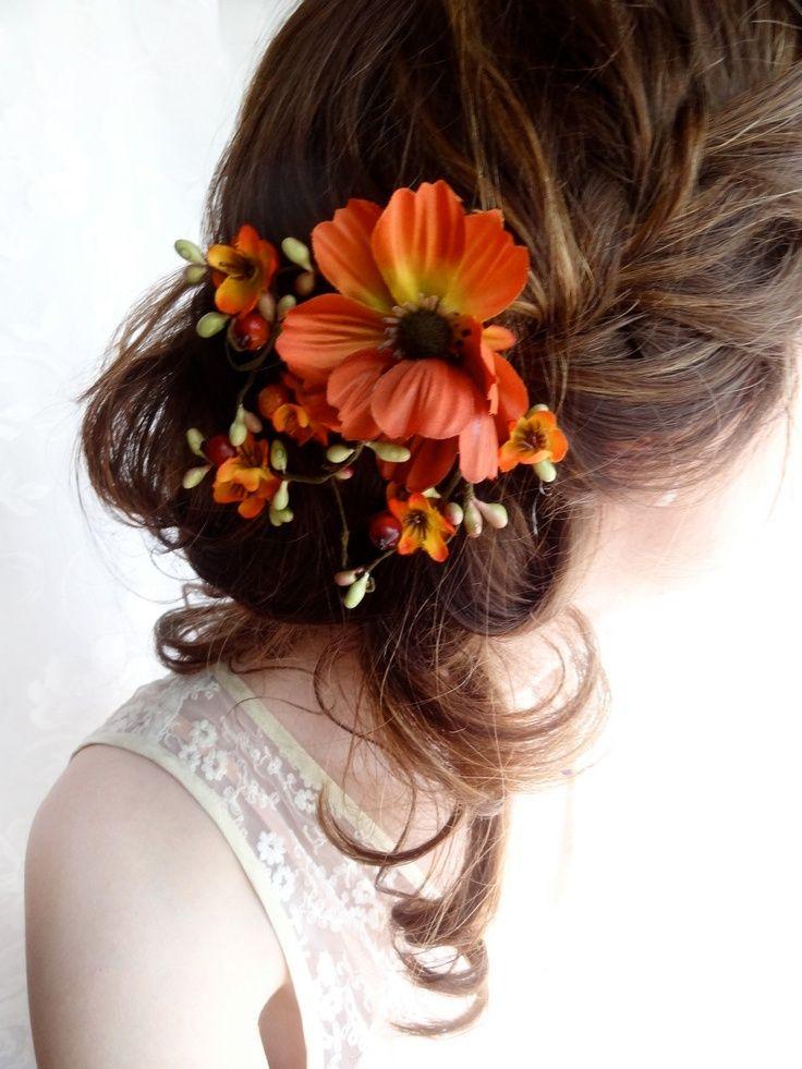 őszi menyasszonyi frizura 1
