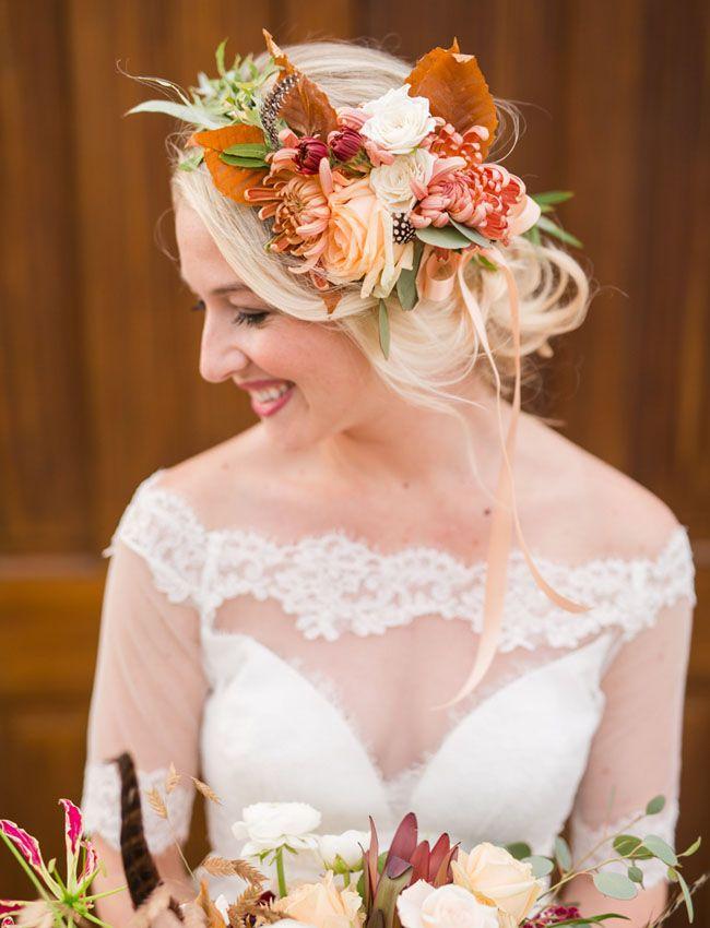 őszi esküvői frizura 12