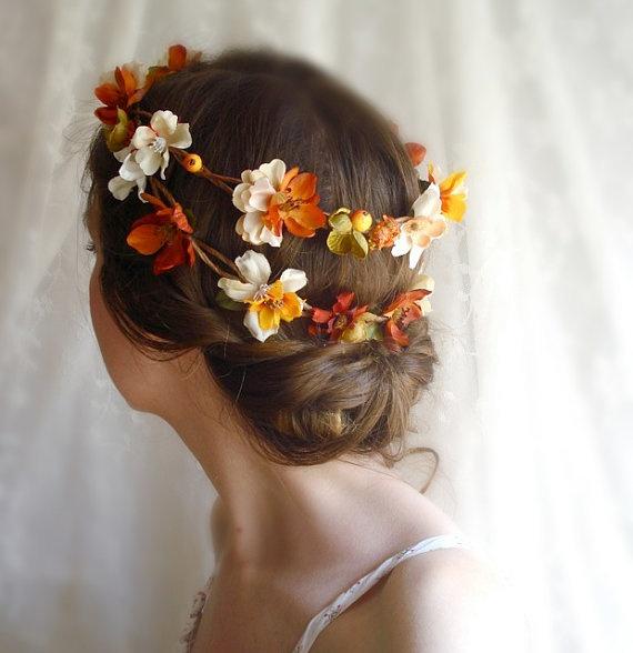 őszi menyasszonyi frizura 6
