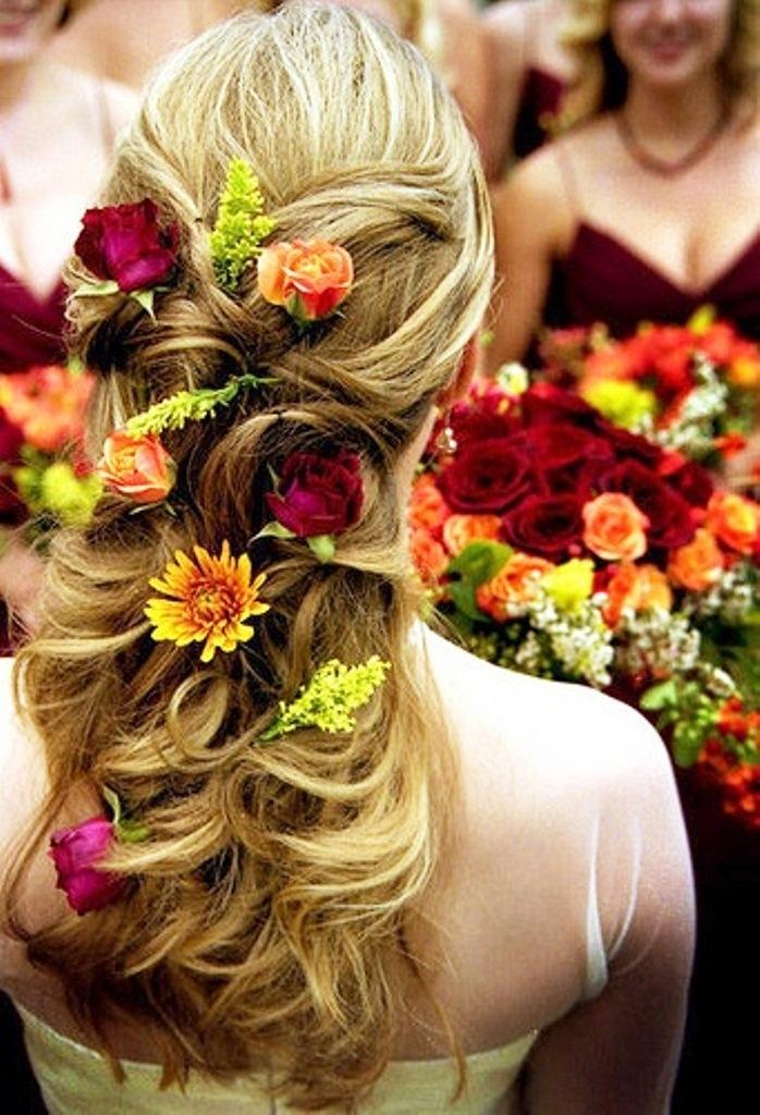 őszi esküvői frizura 8