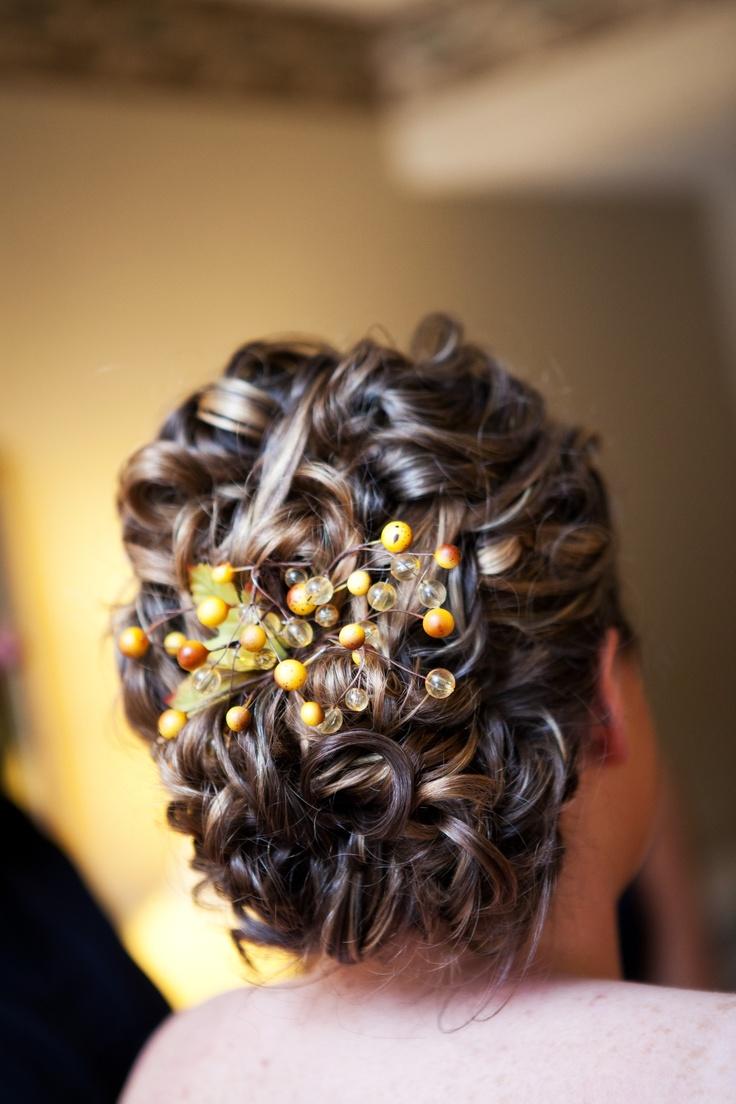 őszi esküvői frizura 9