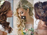 esküvői frizura 2018