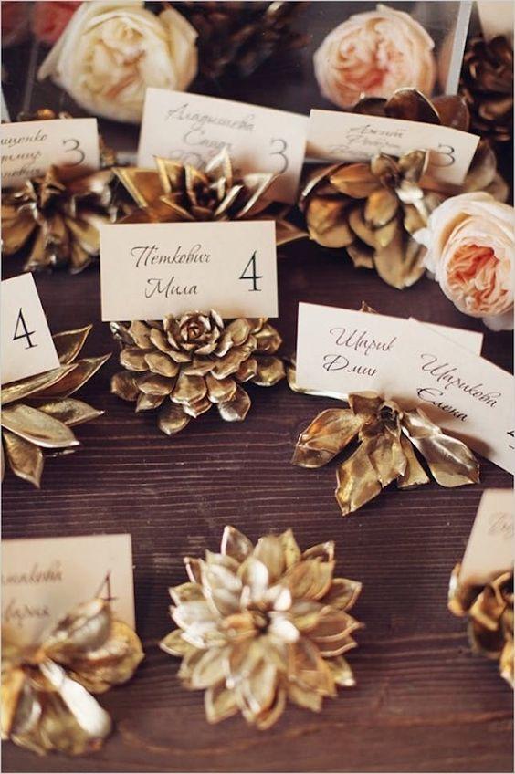 téli esküvői dekoráció ületetőkértyák