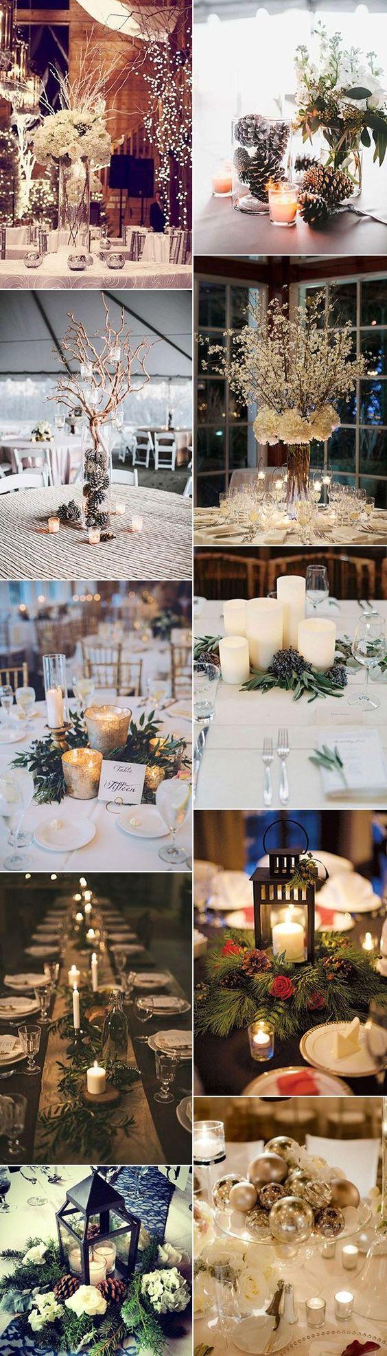 téli esküvői dekoráció fények