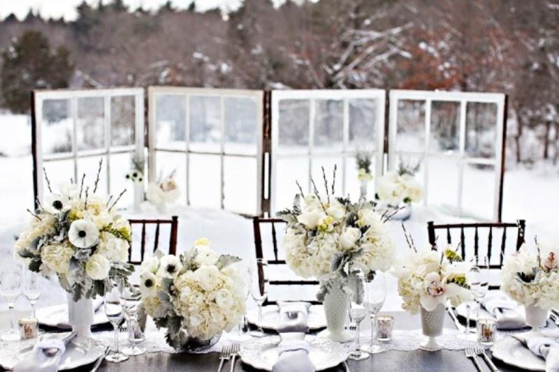 téli esküvői dekoráció 5