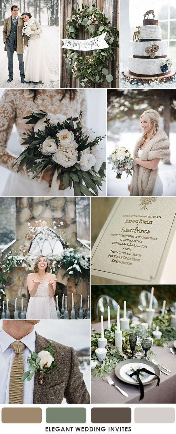 téli esküvői dekoráció inspiráció