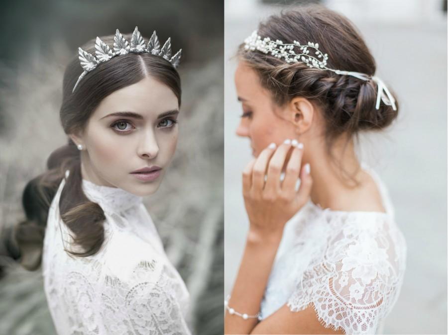 télis esküvői frizura