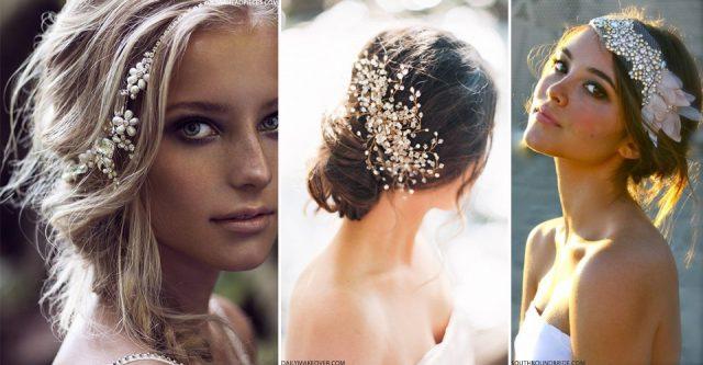 téli menyasszonyi frizura